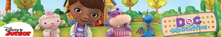 Wholesale Doc McStuffins licensed merchandise for girls.