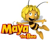 Maya the Bee licensed merchandise for kids and babies wholesale.