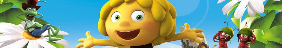 Wholesale Maya the Bee character clothing and accessories.