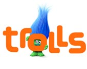 Wholesale Trolls Dreamworks licensed merchandise for kids and babies.