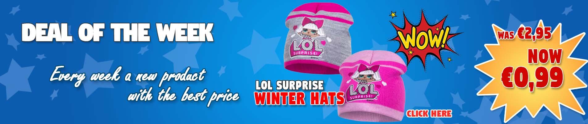 Wholesale LOL Surprise winter hats