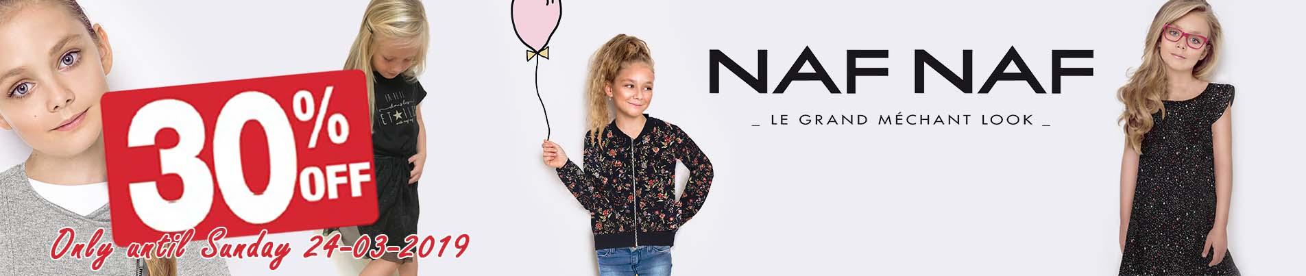 Naf Naf children brand clothes wholesale.